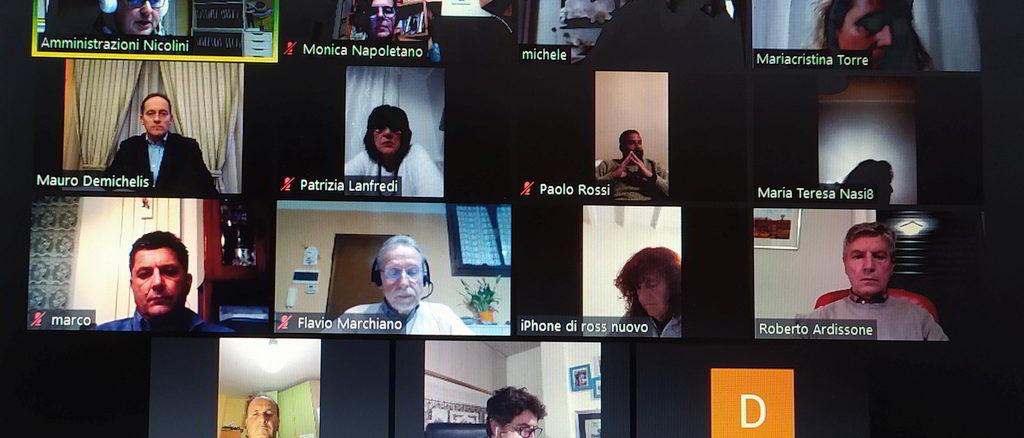 Consiglio comunale Andora in videoconferenza