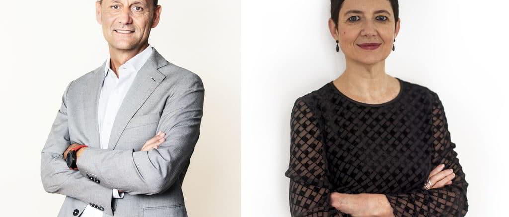 Filippo Muzi Falconi e Michela Salvi