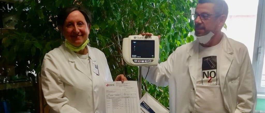 Donazione Lions Club Vado Ligure-Quiliano a ospedale di Savona