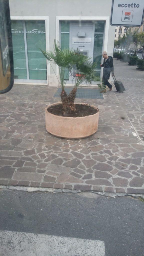 Lavori ad Alassio Piazza Quartino