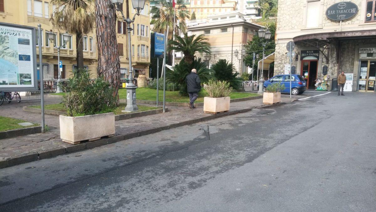 Lavori ad Alassio Piazza Quartino1