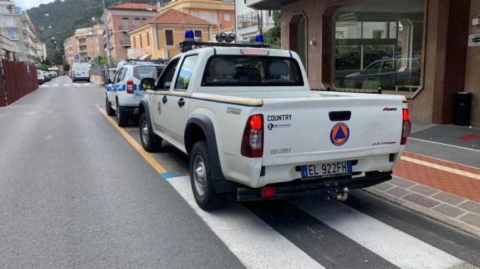 Alassio Protezione civile e Polizia Locale