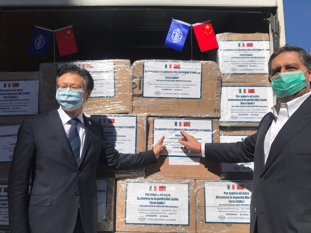 Regione Liguria 0319 consegna mascherine 3