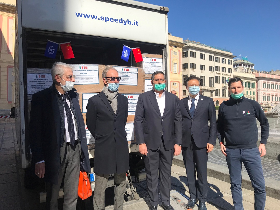 Regione Liguria 0319 consegna mascherine 4