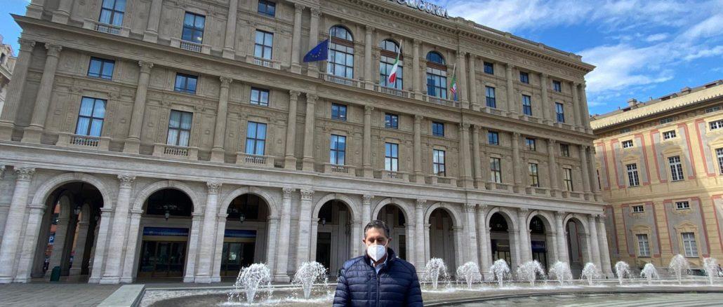 Regione Liguria Silenzio vittime coronavirus - Toti