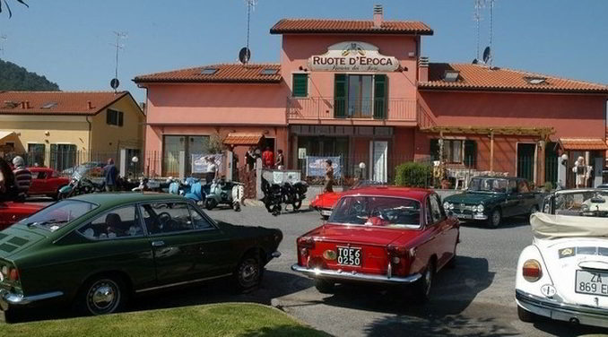 Ruote d'Epoca a Villanova d'Albenga
