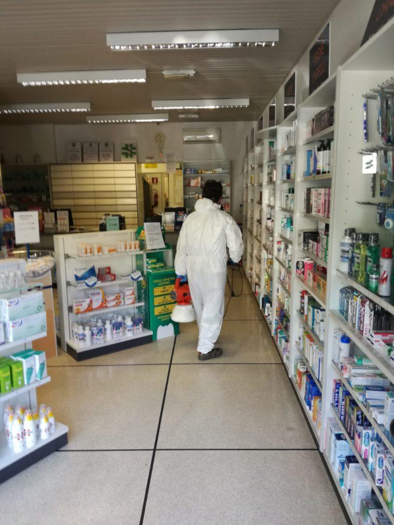 Sanificazione ad Albenga 06