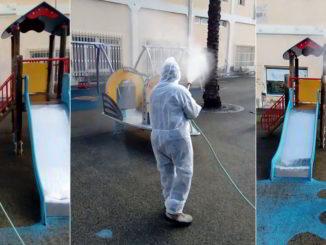Sanificazione parchi a Loano