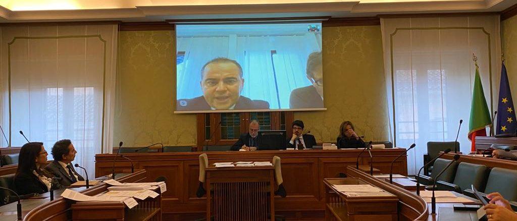 Savona audizione in videoconferenza