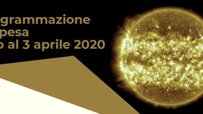 Teatro Nazionale di Genova programmazione sospesa fino al 3 aprile