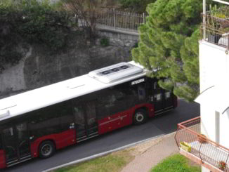 bus in direzione Andora