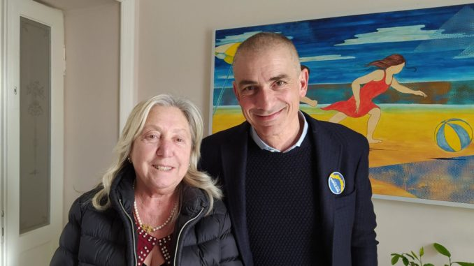 Maria Angela Calcagno e Andrea Costa di Liguria Popolare