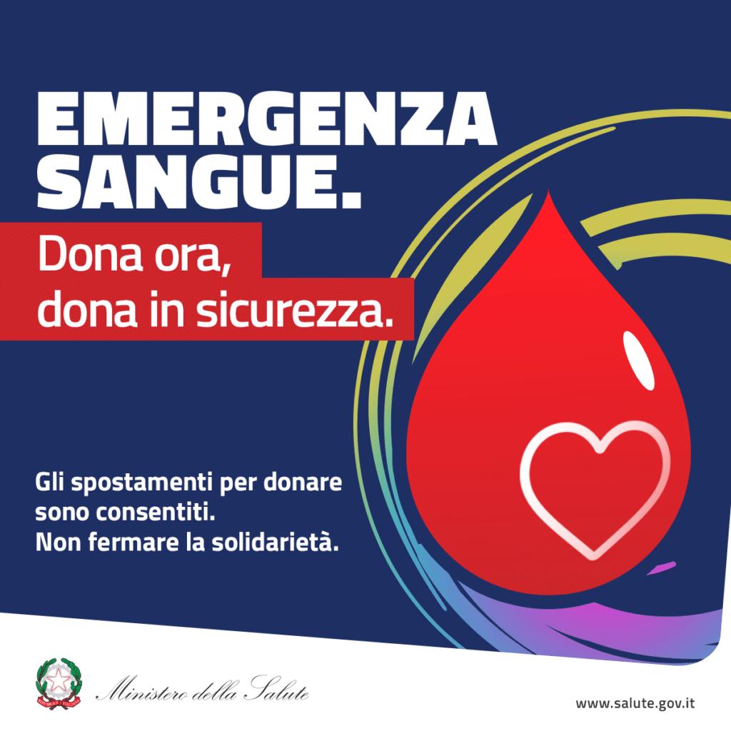 Donare il sangue in sicurezza