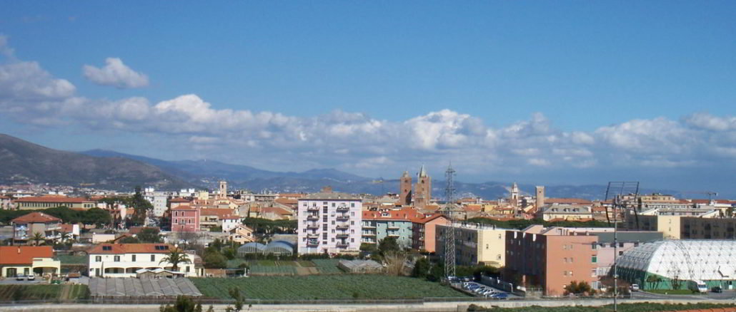 panoramica di Albenga