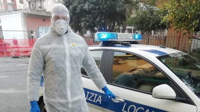 polizia locale Albenga controlli coronavirus