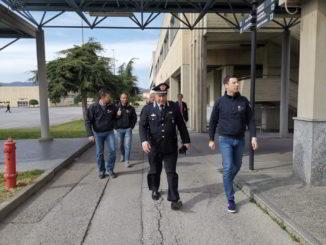 Sopralluogo a Scuola di polizia penitenziaria di Cairo Montenotte