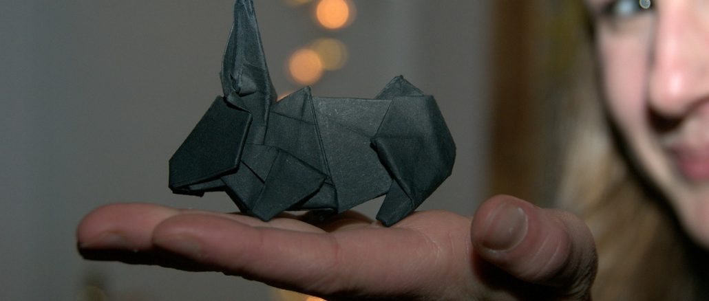 un origami