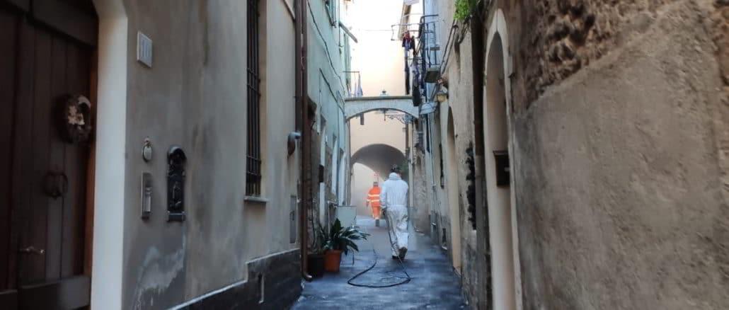 Albenga sanificazione operata da Acquedotto San Lazzaro