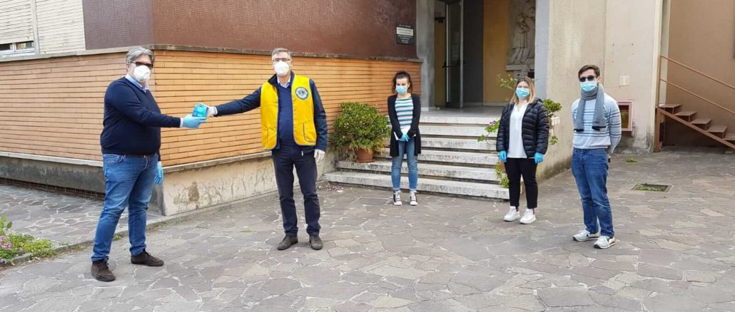 Buoni Pasto Lions donati a Loano