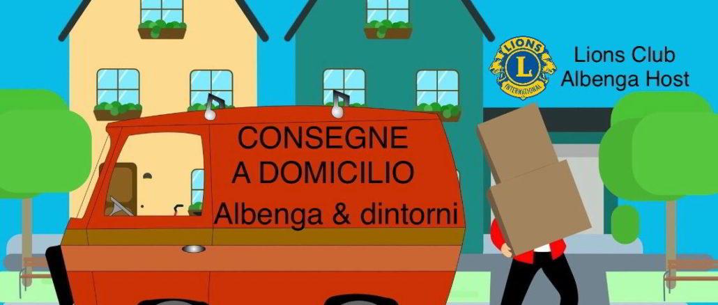 Consegne a domicilio Lions Club Albenga