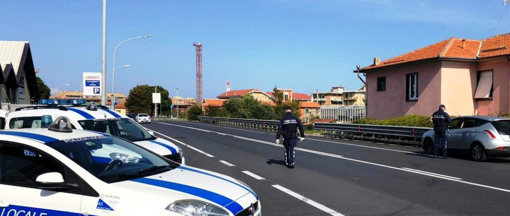 Controlli Polizia locale a Ceriale