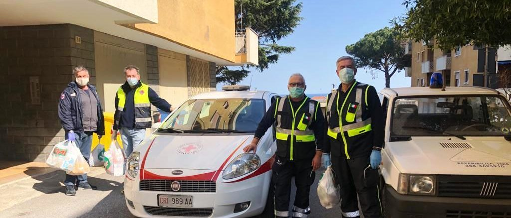 Coronavirus volontari a Ceriale