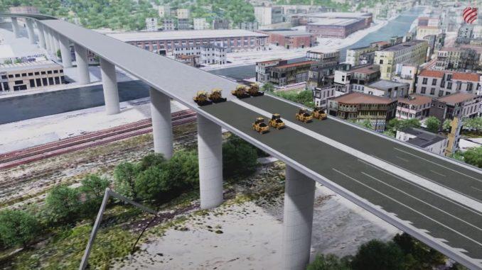 Costruzione nuovo ponte Genova