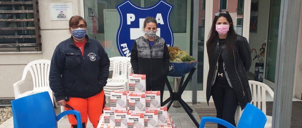 Sara Foscolo e Marinella Geremia donazione a Croce Bianca