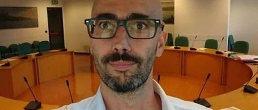 Gabriele Pisani in Consiglio Regione Liguria