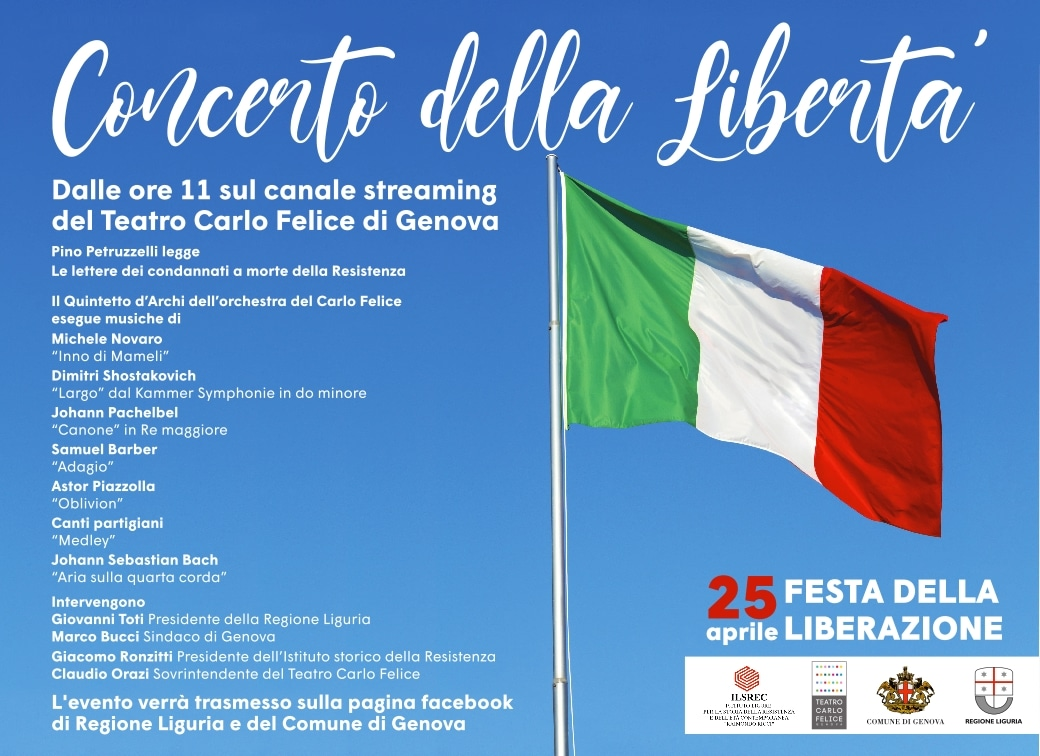 Genova 25 aprile 2020