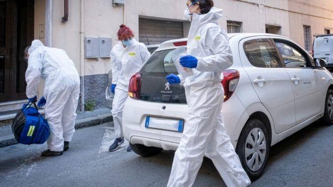 Squadra Gsat operativa a Genova