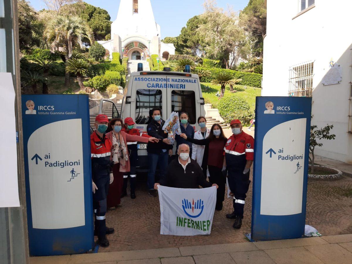 Genova donazioni Pasqua al Gaslini 05
