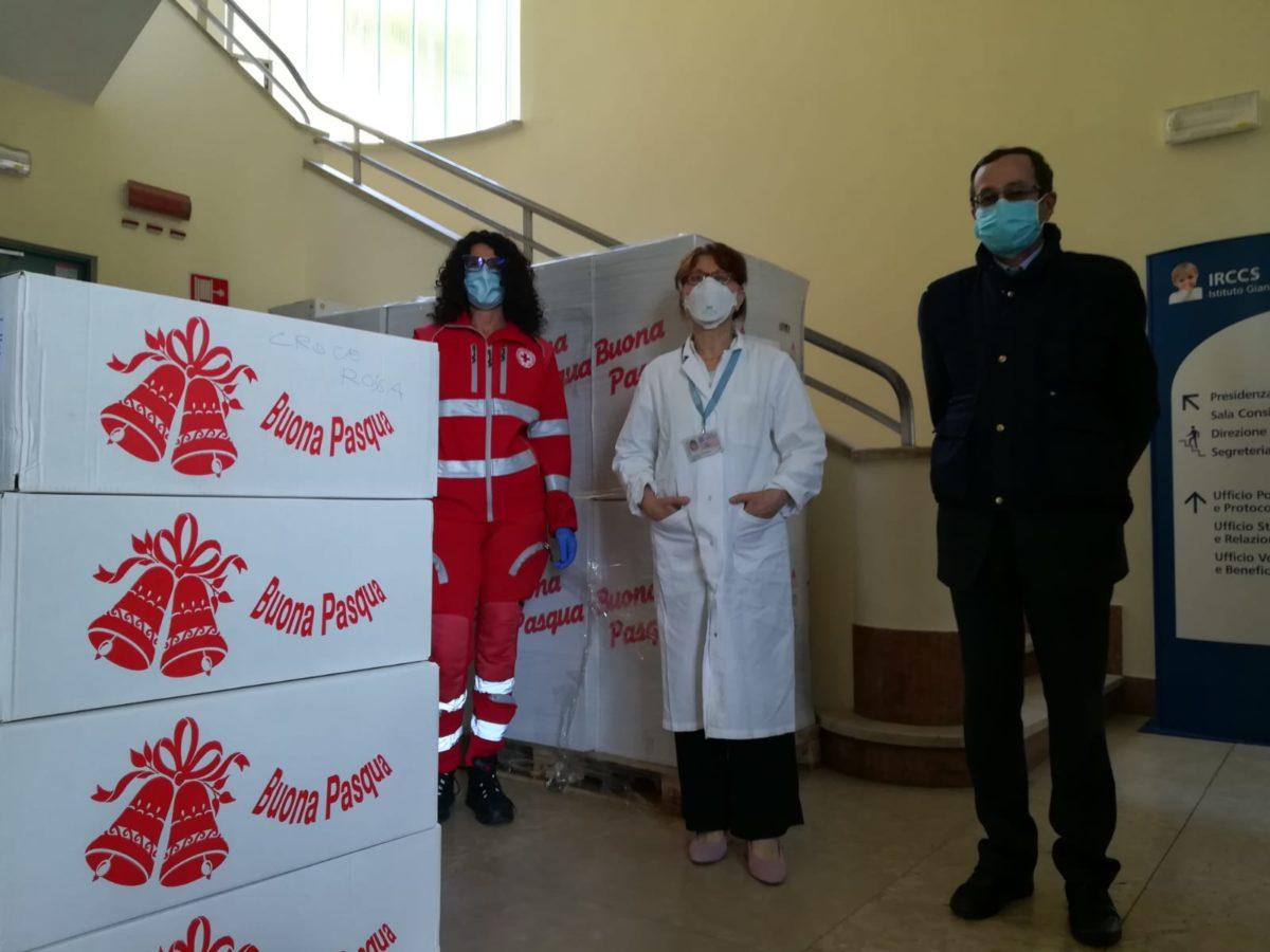Genova donazioni Pasqua al Gaslini 07