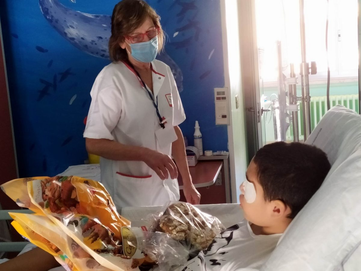 Genova donazioni Pasqua al Gaslini 09