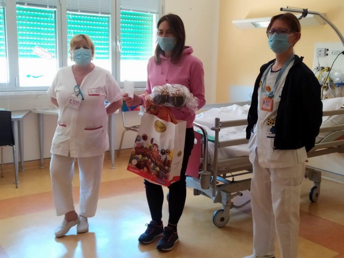 Genova donazioni Pasqua al Gaslini 11