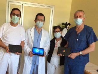 Ospedale di Albenga dal Rotary i tablet per i pazienti in isolamento