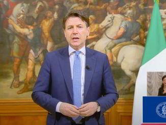 Presidente del Consiglio Giuseppe Conte