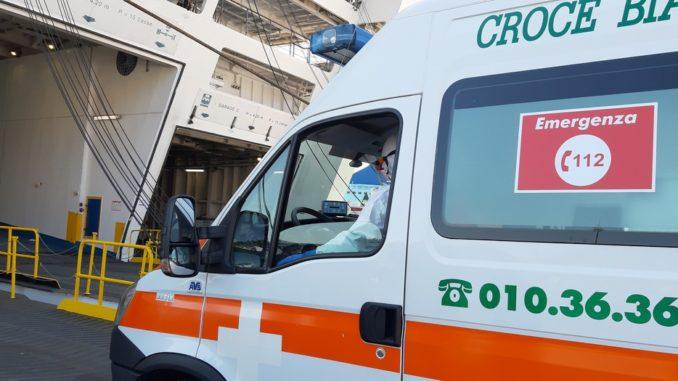Nave ospedale di Genova