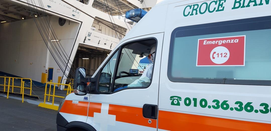 Sopralluogo Nave ospedale Genova 01