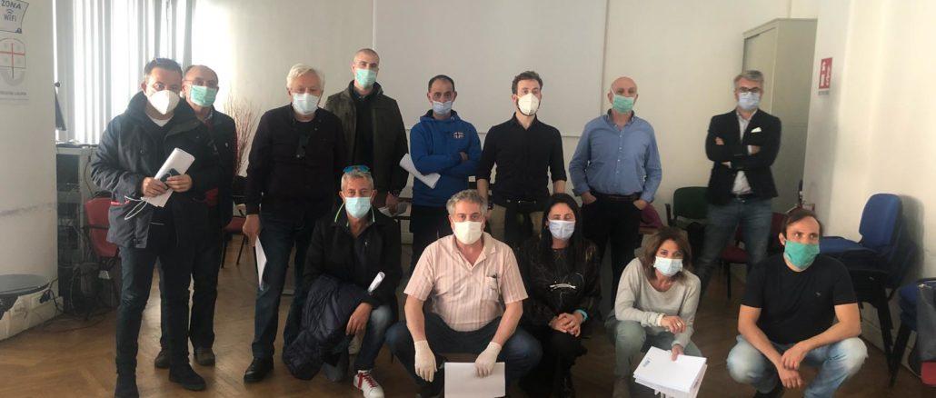 I medici volontari per le RSA della Liguria