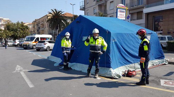 protezione civile di Albenga