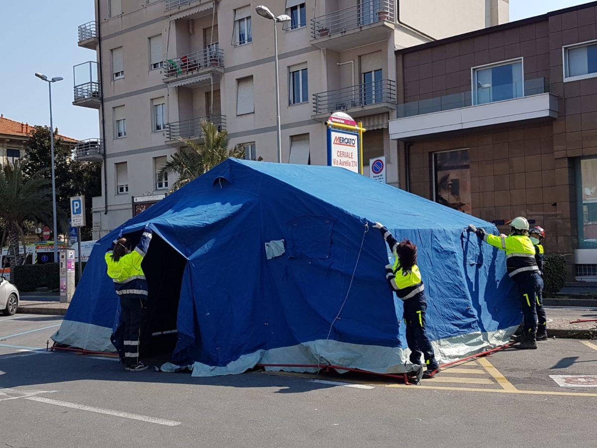 tenda di decontaminazione 5