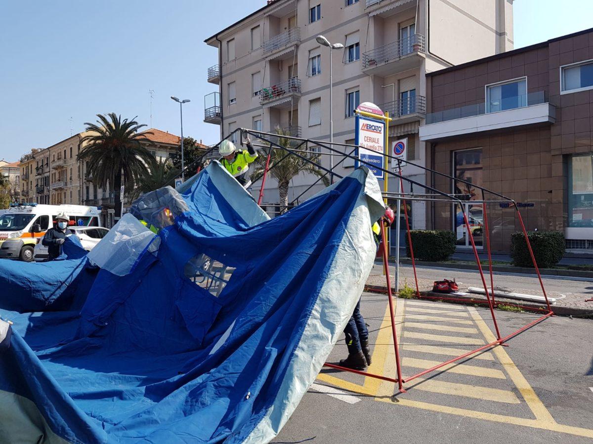 tenda di decontaminazione 6