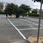 Ad Albenga segnaletica orizzontale peter pan 2