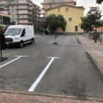 Ad Albenga segnaletica orizzontale peter pan 3