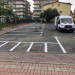 Ad Albenga segnaletica orizzontale peter pan 4