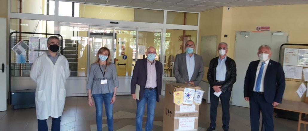 Donazione Rotary al Trincheri di Albenga