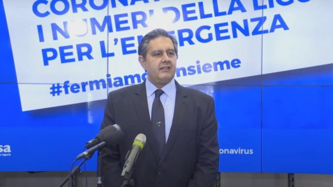 Giovanni Toti emergenza