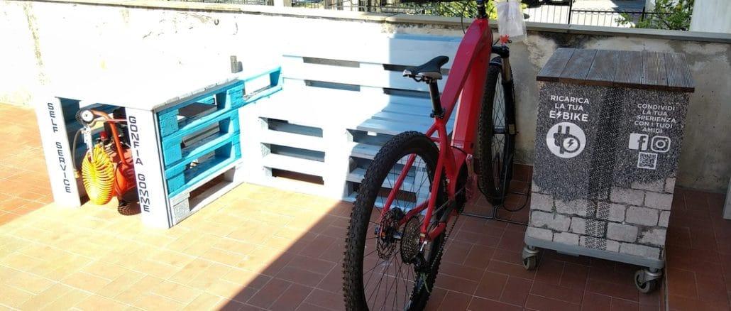 Loano colonnine ricarica e-bike a Loano