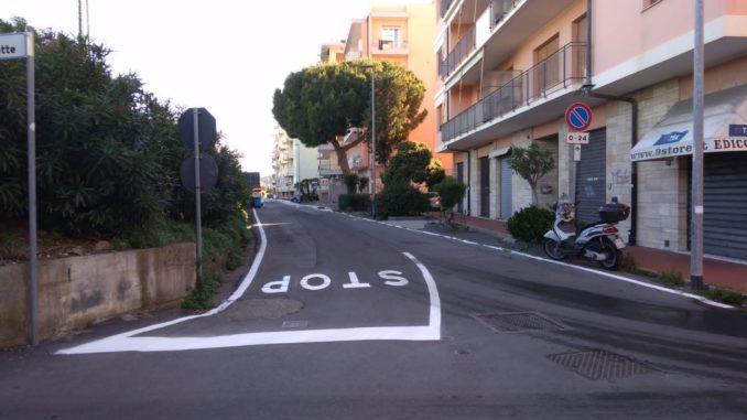 Loano - Segnaletica Olivette
